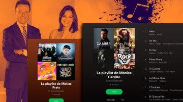 Las playlists más divertidas de Matías Prats y Mónica Carrillo