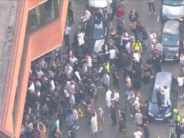 Protestas en Londres contra la falta de respuestas tras el incendio de la torre Grenfell