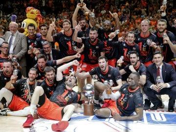 El Valencia Basket, con la ACB
