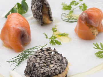 Rillette de salmón