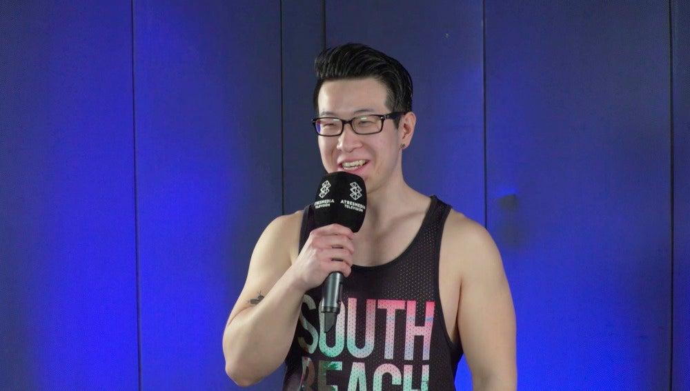 Juan Lin Chen, el 'chino espartano' de 'Ninja Warrior' que canta reggaeton