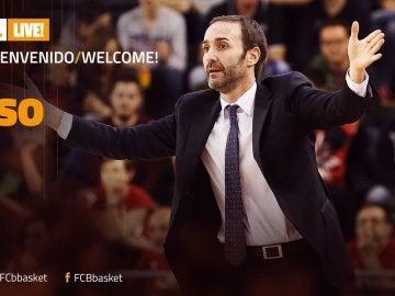 Sito Alonso, nuevo entrenador del Barcelona
