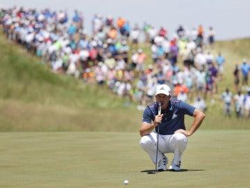 El golfista Sergio García en el US Open
