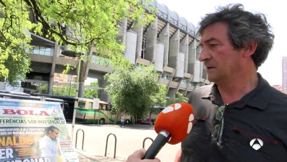 Un aficionado del Real Madrid opina sobre Cristiano Ronaldo