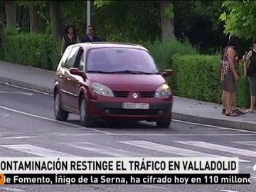La contaminación obliga a cortar el tráfico en el centro de Valladolid desde este viernes hasta el lunes