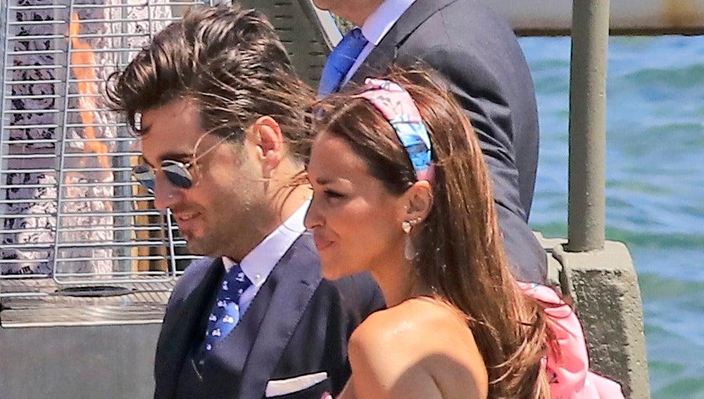 Paula Echevarría y David Bustamante, muy cercanos
