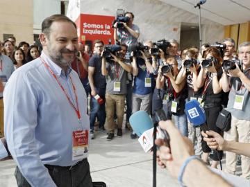 El portavoz del PSOE en el Congreso, José Luis Ábalos.