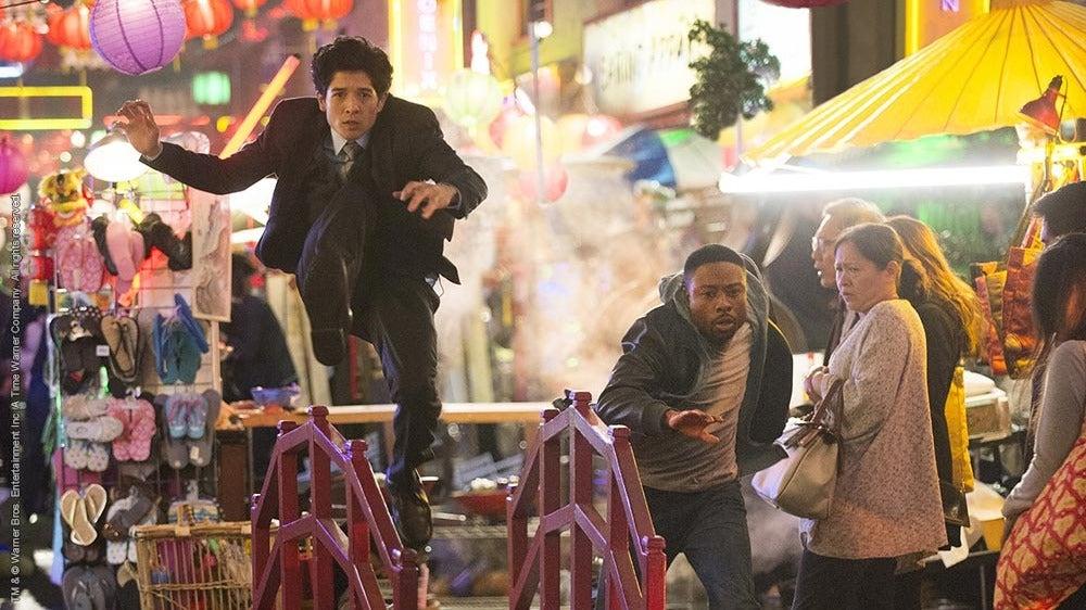 Los detectives Carter y Lee en 'Hora Punta'