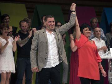 Arnaldo Otegi, elegido coordinador general de EH Bildu con 84 % de los votos.