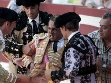 Ivan Fandiño tras la cogida mortal