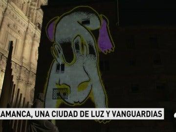 El Festival de Luz y Vanguardias de Salamanca reúne a los artistas más destacados del mundo de las creaciones