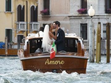 Álvaro Morata se casa con Alice Campello en Venecia