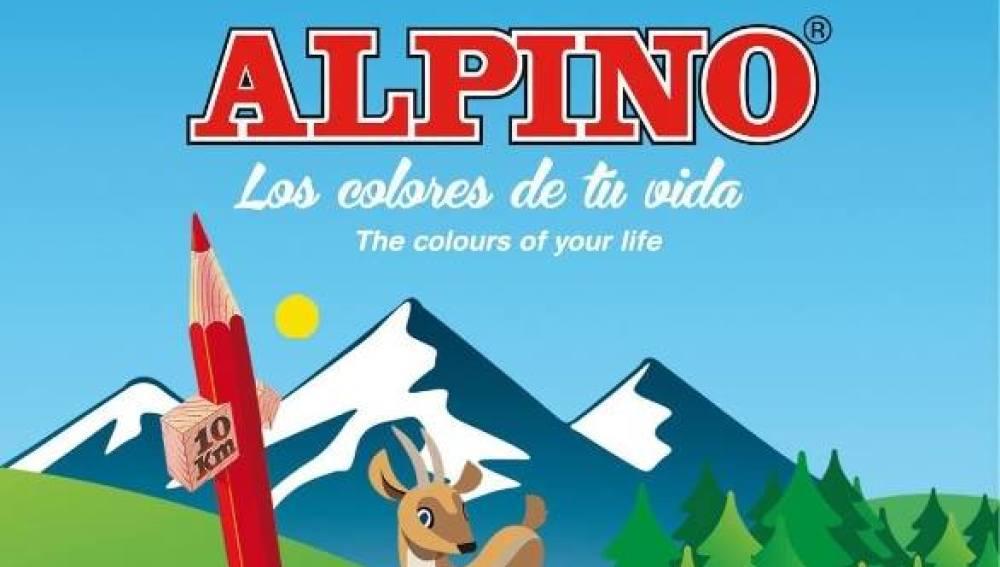 Caja de lápices Alpino