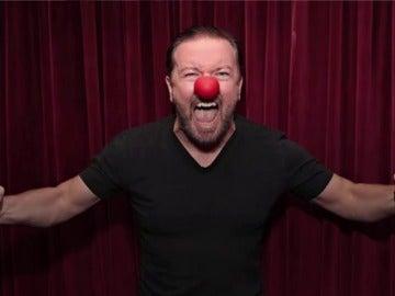 El polémico Ricky Gervais
