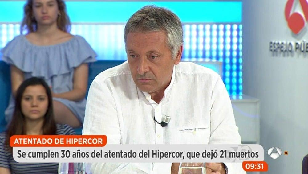Roberto Manrique, víctima del atentado de Hipercor