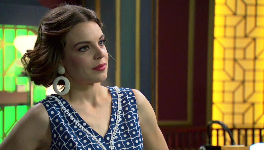 María, estupefacta descubre a 'su admirador secreto'
