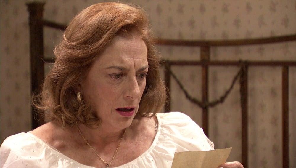 Fuen, en shock tras leer la carta secreta de Simón