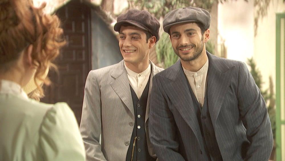 Los guapos hermanos Ortega llegan a Puente Viejo