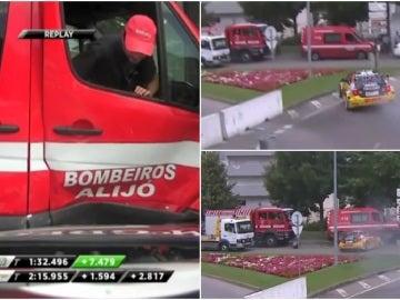 Accidente de Tom Coronel en el Mundial de Turismos en Vila-Real