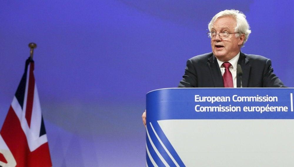 David Davis, el ministro británico para el 'brexit'