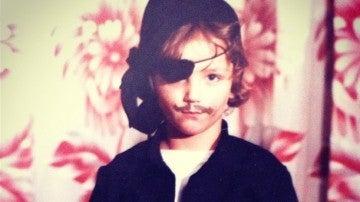 Pablo Castañón publica una imagen de su infancia