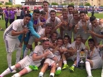 El Real Madrid, campeón de la Copa del Rey juvenil