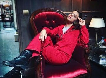 Clara Alvarado es Ariadna en 'La casa de papel'