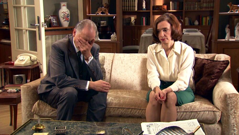 El embarazo de Alba, un temor para Félix y Rosalía