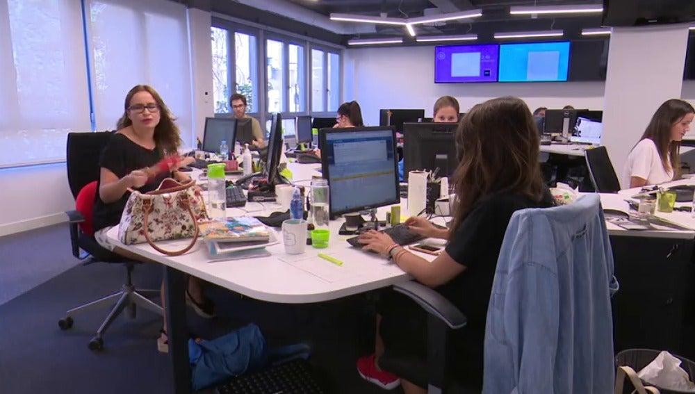 Más de la mitad de los trabajadores ha discutido con los compañeros por el aire acondicionado