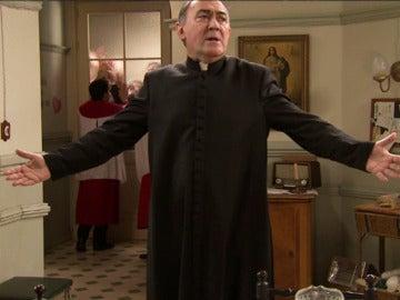 Una estampida de admiradoras de Gonzalo inundará la iglesia