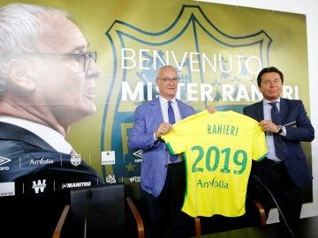 Ranieri, presentado como técnico del Nantes