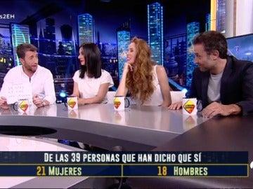 Qué opinan Daniel Guzmán, Miren Ibarguren y María Castro sobre los intercambios de parejas