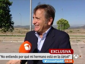 Josep Pujol Ferrusola visita a su hermano en prisión