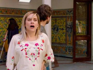 Carmen se pone de parto en Sevilla lejos de Iñaki y Horacio