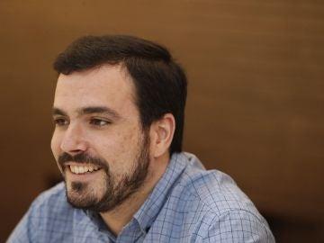 Alberto Garzón, coordinador federal y portavoz parlamentario de IU