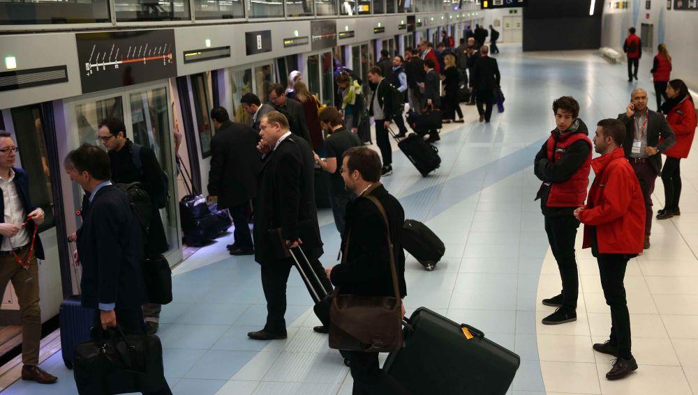 Imagen de archivo del metro de Barcelona