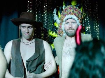 Juan y Rafi, dos stripper dispuestos a darlo todo sobre el escenario