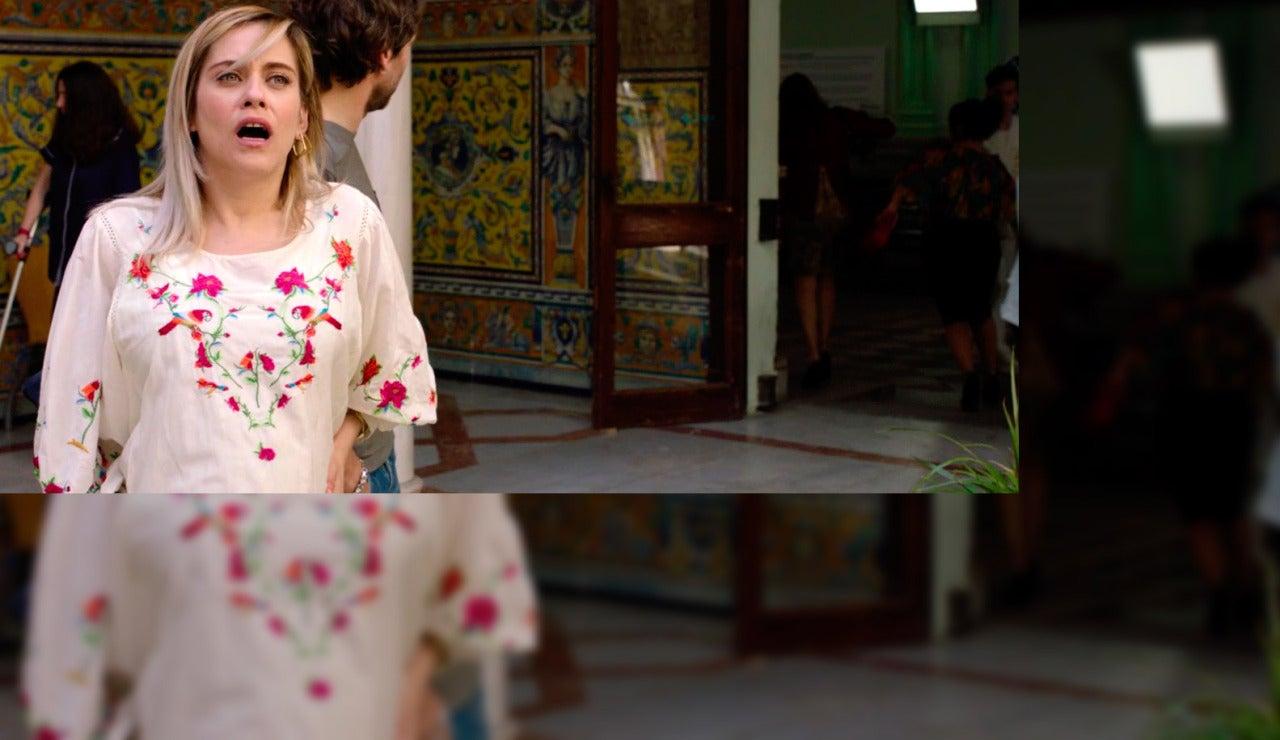 Carmen se pone de parto en Sevilla