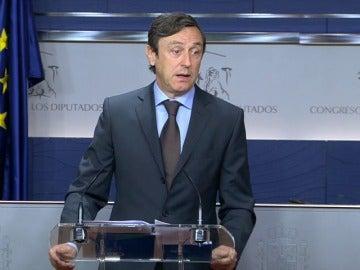 """Hernando le pide a Sánchez que """"vuelva a la sensatez"""" y no piense en elecciones"""