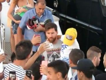 Leo Messi en Rosario