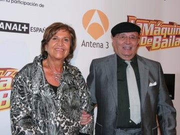 Tony Leblanc y su mujer Isabel Páez