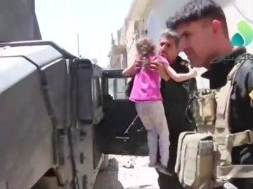 El Ejército iraquí logra un importante avance para liberación definitiva de Mosul