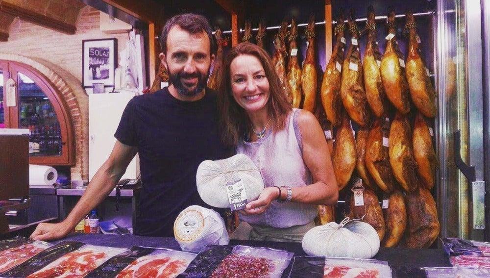 Quesos riquísimos en el mercado de Valencia