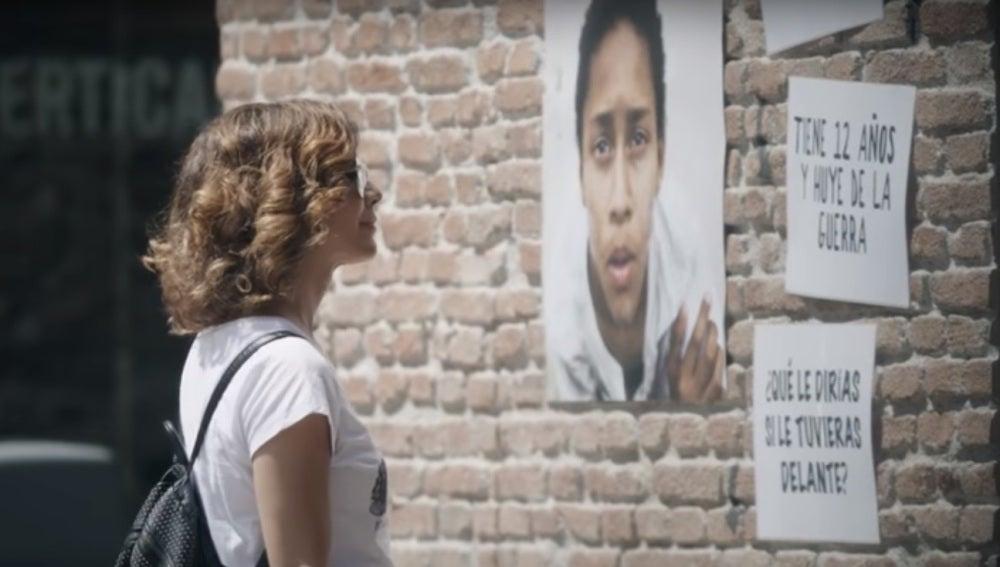 """#RompeElMuro, la campaña de Unicef que anima a reflexionar: """"¿Qué le dirías a un niño refugiado si le tuvieses delante?"""""""