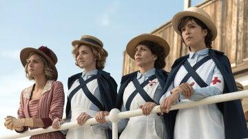 Las Damas Enfermeras lideradas por Carmen Angoloti