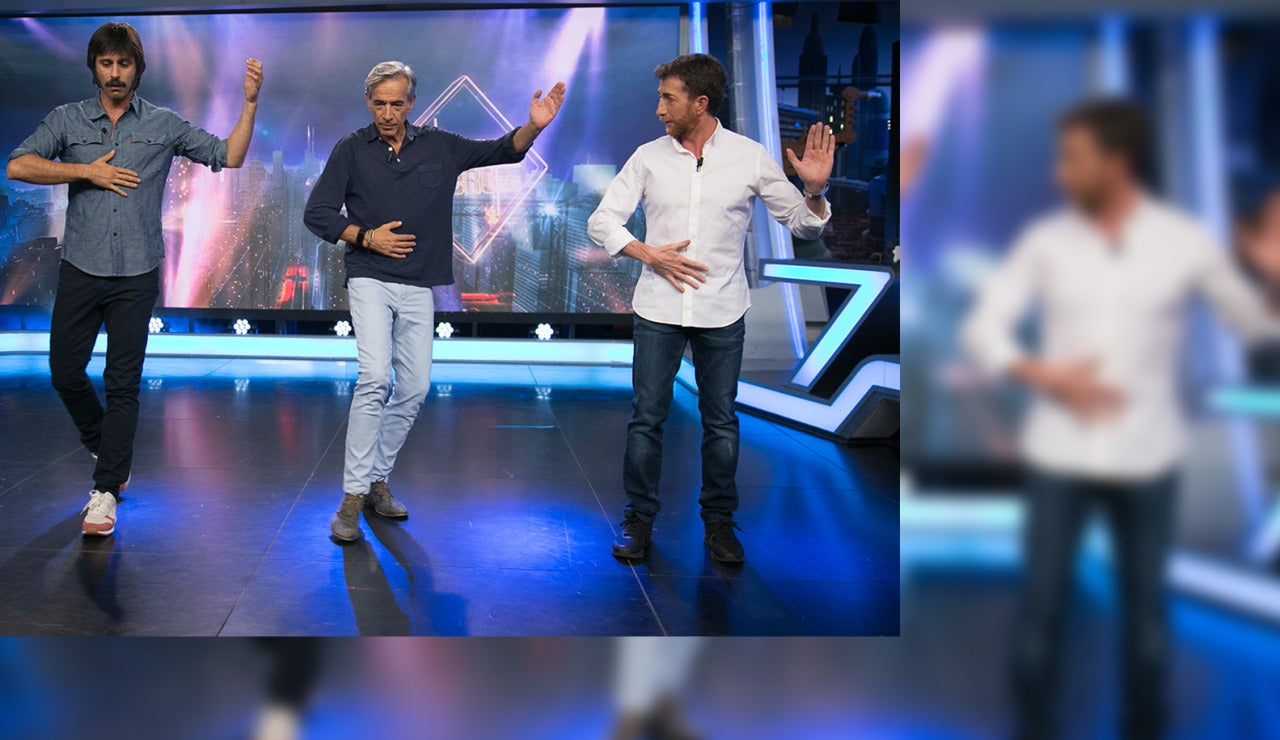 Imanol Arias y Hugo Silva en El Hormiguero