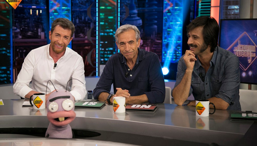 ¿Quién es más vago en el trabajo, Imanol Arias o Hugo Silva?