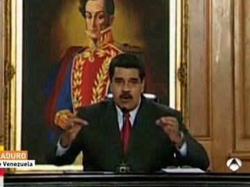 """Maduro carga contra los """"terroristas"""""""