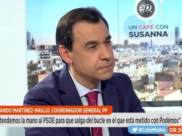 Martínez Maíllo en Espejo Público