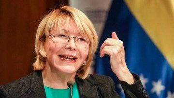 La exfiscal venezolana, Luisa Ortega Díaz